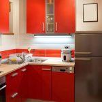 фото Интерьер маленькой кухни от 27.12.2017 №065 - Interior of a small kitchen - 2018