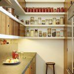 фото Интерьер маленькой кухни от 27.12.2017 №066 - Interior of a small kitchen - 2018