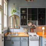 фото Интерьер маленькой кухни от 27.12.2017 №067 - Interior of a small kitchen - 2018