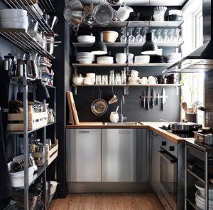 фото Интерьер маленькой кухни от 27.12.2017 №070 - Interior of a small kitchen - 2018