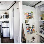 фото Интерьер маленькой кухни от 27.12.2017 №076 - Interior of a small kitchen - 2018
