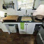 фото Интерьер маленькой кухни от 27.12.2017 №077 - Interior of a small kitchen - 2018