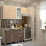 фото Интерьер маленькой кухни от 27.12.2017 №082 - Interior of a small kitchen - 2018