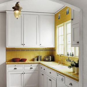 фото Интерьер маленькой кухни от 27.12.2017 №084 - Interior of a small kitchen - 2018