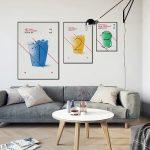 фото Постеры для интерьера от 29.12.2017 №020 - Posters for interior - design-foto.ru