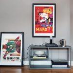 фото Постеры для интерьера от 29.12.2017 №058 - Posters for interior - design-foto.ru