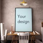 фото Постеры для интерьера от 29.12.2017 №066 - Posters for interior - design-foto.ru