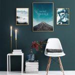 фото Постеры для интерьера от 29.12.2017 №067 - Posters for interior - design-foto.ru