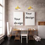 фото Постеры для интерьера от 29.12.2017 №076 - Posters for interior - design-foto.ru