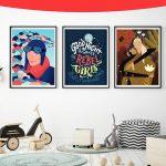 фото Постеры для интерьера от 29.12.2017 №094 - Posters for interior - design-foto.ru