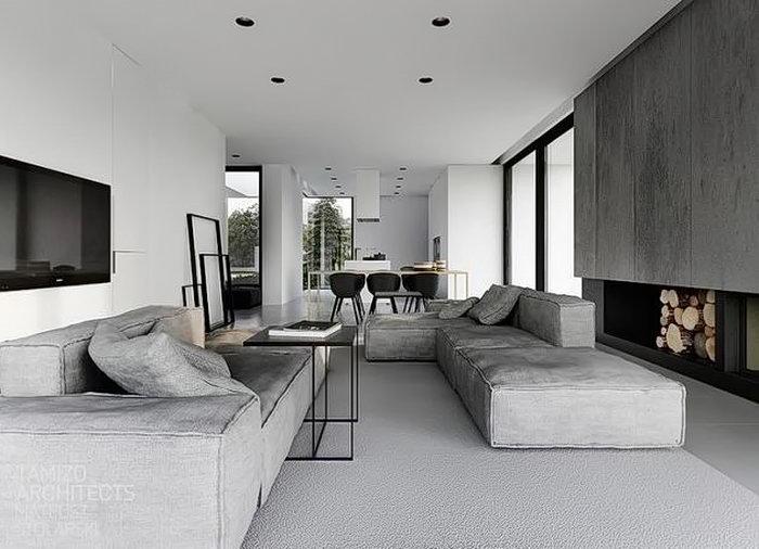 фото Серый цвет в интерьере от 21.12.2017 №003 - Gray in the interior - design-foto.ru