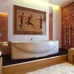фото Современные стили интерьера ванной от 30.12.2017 №044 - 1 - design-foto.ru