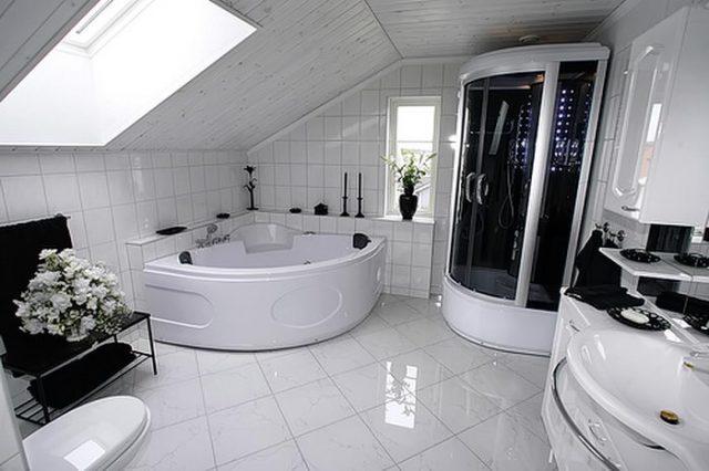 Современные стили интерьера ванной комнаты
