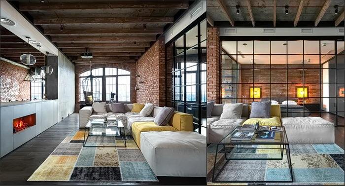 фото Стиль лофт в интерьере от 28.12.2017 №004 - Loft style in the interior - design-foto.ru