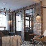 фото Стиль лофт в интерьере от 28.12.2017 №052 - Loft style in the interior - design-foto.ru