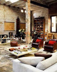фото Стиль лофт в интерьере от 28.12.2017 №056 - Loft style in the interior - design-foto.ru