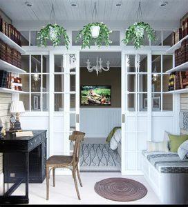 фото Стиль прованс в интерьере от 27.12.2017 №012 - Provence style in interior - 2018