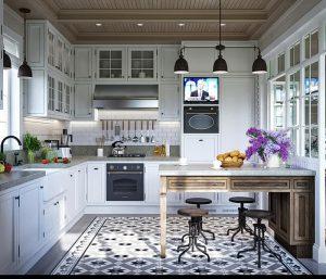 фото Стиль прованс в интерьере от 27.12.2017 №059 - Provence style in interior - 2018