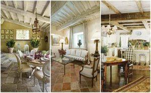фото Стиль прованс в интерьере от 27.12.2017 №072 - Provence style in interior - 2018