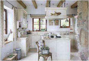 фото Стиль прованс в интерьере от 27.12.2017 №080 - Provence style in interior - 2018