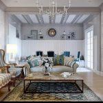 фото Стиль прованс в интерьере от 27.12.2017 №083 - Provence style in interior - 2018