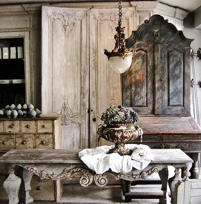 фото Стиль прованс в интерьере от 27.12.2017 №117 - Provence style in interior - 2018