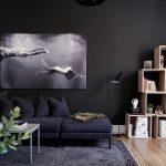 фото Черный цвет в интерьере от 21.12.2017 №024 - Black color in the interio - design-foto.ru