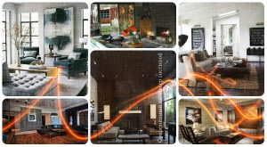 Современный интерьер гостиной - фото примеры оригинальных идей