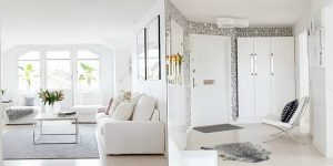 фото Белый интерьер квартиры от 27.03.2018 №002 - White interior of the - design-foto.ru