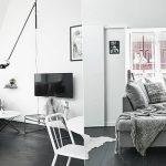 фото Белый интерьер квартиры от 27.03.2018 №004 - White interior of the - design-foto.ru