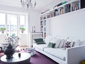 фото Белый интерьер квартиры от 27.03.2018 №015 - White interior of the - design-foto.ru