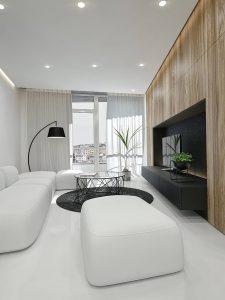 фото Белый интерьер квартиры от 27.03.2018 №030 - White interior of the - design-foto.ru