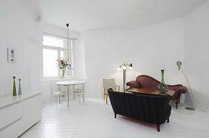 фото Белый интерьер квартиры от 27.03.2018 №040 - White interior of the - design-foto.ru