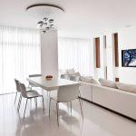 фото Белый интерьер квартиры от 27.03.2018 №071 - White interior of the - design-foto.ru