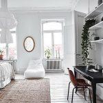 фото Белый интерьер квартиры от 27.03.2018 №091 - White interior of the - design-foto.ru