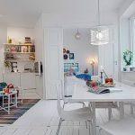 фото Белый интерьер квартиры от 27.03.2018 №102 - White interior of the - design-foto.ru