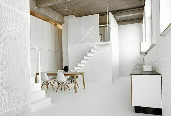 фото Белый интерьер квартиры от 27.03.2018 №110 - White interior of the - design-foto.ru
