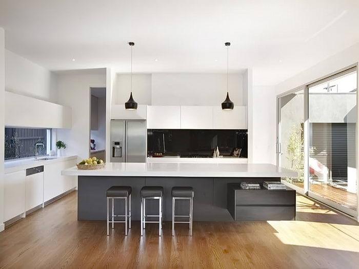фото Дизайн интерьера кухни от 21.03.2018 №004 - Kitchen interior design - design-foto.ru