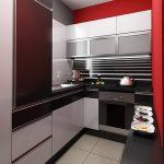фото Дизайн интерьера кухни от 21.03.2018 №106 - Kitchen interior design - design-foto.ru