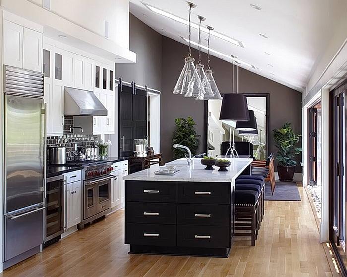 фото Дизайн интерьера кухни от 21.03.2018 №110 - Kitchen interior design - design-foto.ru