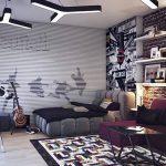 фото Интерьер для мальчика подростка от 21.03.2018 №036 - Interior for bo - design-foto.ru