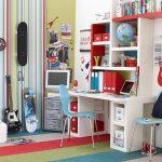 фото Интерьер для мальчика подростка от 21.03.2018 №040 - Interior for bo - design-foto.ru