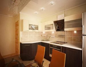 фото Интерьер кухни 9 кв м от 02.01.2018 №001 - Kitchen interior 9 sq M - design-foto.ru