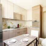 фото Интерьер кухни 9 кв м от 02.01.2018 №002 - Kitchen interior 9 sq M - design-foto.ru