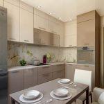 фото Интерьер кухни 9 кв м от 02.01.2018 №003 - Kitchen interior 9 sq M - design-foto.ru