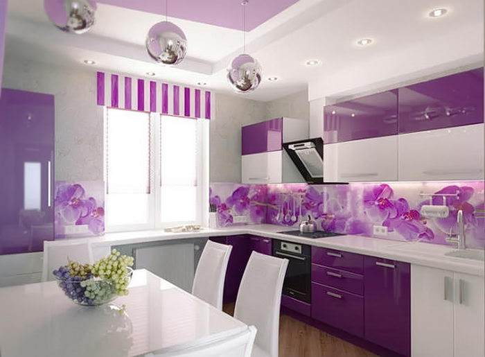 фото Интерьер кухни 9 кв м от 02.01.2018 №004 - Kitchen interior 9 sq M - design-foto.ru