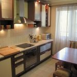 фото Интерьер кухни 9 кв м от 02.01.2018 №005 - Kitchen interior 9 sq M - design-foto.ru