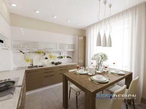 фото Интерьер кухни 9 кв м от 02.01.2018 №007 - Kitchen interior 9 sq M - design-foto.ru