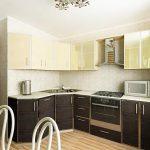 фото Интерьер кухни 9 кв м от 02.01.2018 №009 - Kitchen interior 9 sq M - design-foto.ru