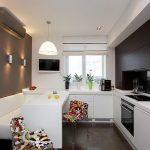 фото Интерьер кухни 9 кв м от 02.01.2018 №013 - Kitchen interior 9 sq M - design-foto.ru